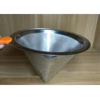 Wholesale Professional Ceramic Stainless Steel Filter Cup Custom Hole Pattern And Size from china suppliers
