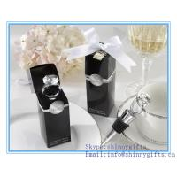 DIAMOND RING WINE BOTTLE STOPPERS for sale