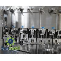 Wholesale Liquid CSD, cola, wine bottle carbonated  filling machines, water bottling machinery from china suppliers