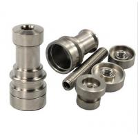 Wholesale Universal Adjustable Domeless Ti Titanium Nail GR2 14mm 18mm 19mm from china suppliers