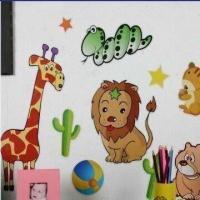 Wholesale Animal Set, Made of EVA, PVC and Art Paper, Available in Various Colors from china suppliers