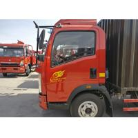 Buy cheap 16cbm 4*2 HOWO Small Box Truck 3360mm Wheelbase Euro 2 For Transport from wholesalers