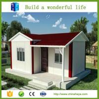 China HEYA hot sale steel framed prefab house wooden bungalow homes with 3 bedrooms on sale