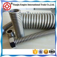 Wholesale Armoured hosesHigh temperature resistant Teflon stainless steel Corrugated  metal pipes from china suppliers
