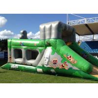 Wholesale Fantastic Aztec Adventure Assault Rent Inflatable Obstacle Course Bounce House For Adult from china suppliers