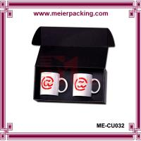 Wholesale Corrugated Black Mug Box/Promotional 2x Coffee Mug Corrugated Box ME-CU032 from china suppliers