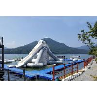 Wholesale Giant Aquaglide Inflatable Water Park , Inflatable Water Assault Course With EN15649 from china suppliers