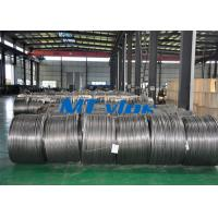 Wholesale TP304L / 1.4306 Small Diameter Stainless Steel Coiled Tubing For Cable Industry from china suppliers