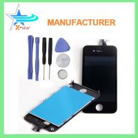 Wholesale White LCD Display+Touch Screen Digitizer Assembly Replacement for iPhone 4 OEM from china suppliers