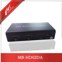 Wholesale 2-Port HDMI Splitter,HDMI Amplifier  MB-HD02DA from china suppliers