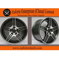 Wholesale Custom Alloy Black 5 Spoke Rims / Replica Mercedes Benz Wheels from china suppliers