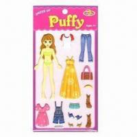 Wholesale Puffy Stickers, Ideal for 4yrs Old and Up from china suppliers