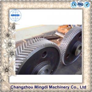 China Custom Hobbing Herringbone Bevel Gear Assembly Transmission Parts on sale