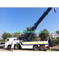 Wholesale HOWO White 30 TON Wrecker Tow Truck / Diesel Obstacle Trucks from china suppliers