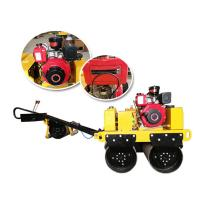 Wholesale ZM-50 540kg Gasoline Walk Behind Double Drum Vibratory Roller from china suppliers