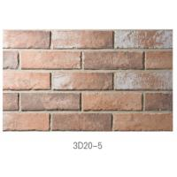 Ancient Thin Clay Brick For Outside Wall Installation