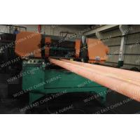 Buy cheap 100mm Red Copper Pipes Continuous Casting Plant , Horizontal Casting Machine from wholesalers