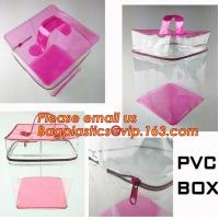 Wholesale Custom made all kinds transparent plastic make up bag clear pvc cosmetic bag for women, new fashion eco-friendly cheap w from china suppliers