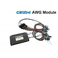 Quality Dual 88-CH 50GHz Flat-Top AWG DWDM Mux Demux with 1% Tap Monitor for sale