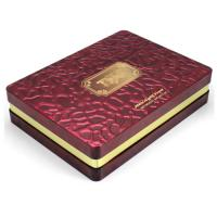 Large Rectangular Metal Tins 4c Printing For Cookie And Chocolate Packaging for sale