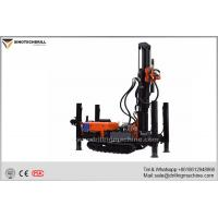 Wholesale SteelCrawlerChassis Water Drilling Machine , Water Drilling Rig With Air Compressor from china suppliers