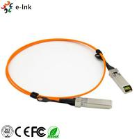 China Active Optical Cable Fiber Optic Transceiver Module OM2 Cable Length 1m 10G SFP+ To SFP+ on sale