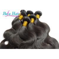 Wholesale Natural Black Cambodian Hair Bundles 20-22 Inch Hair Extensions With Full Cuticles from china suppliers