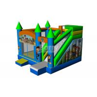 Wholesale Commercial Grade Inflatable Bouncer House , Industrial Catoon Moon Bounce from china suppliers