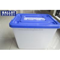 Wholesale 65 Liter larger Capacity  Ballot Box Platic Suggestion Box Locable Use in Voting Campaign from china suppliers
