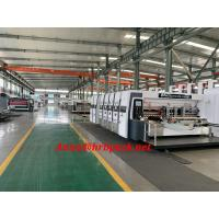 Wholesale High Speed Lead Edge Feeder Flexo 4 Color Printer Slotter Die Cutter Machine from china suppliers