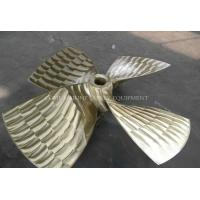 China Bronze Propeller, Copper Material Fixed Pitch Marine 4 Bladed Propellers Propeller for marine propulsion on sale
