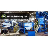 Wholesale Large Plastic Washing Machine , Pet Bottle Washing Line With 1 Year Warranty from china suppliers