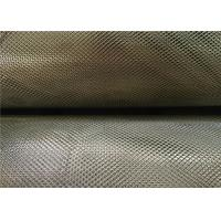 China 3 X 5 Mm Zinc Coated Steel Expanded Metal Mesh 0.4Mm Thickness 18Kg Per Roll on sale