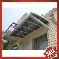 Buy cheap excellent wind resistance anti-UV patio gazebo balcony corridor porch window door aluminum pc awning canopy shelter from wholesalers