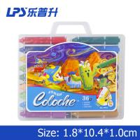 Wholesale 36 Colors Rotatable Water Soluble Crayons Round Students Painting Tools from china suppliers