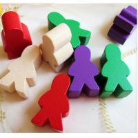 Wholesale human shape game pieces wooden Board Game Playing Pieces school toy supplies from china suppliers