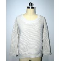 Wholesale Semi Combed Cotton Women'S Pullover Sweater Round Neck BGAX16288 from china suppliers
