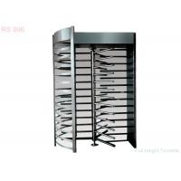 Wholesale 304/316 Stainless Steel Full Height Turnstiles Gate Bidirectional For School from china suppliers