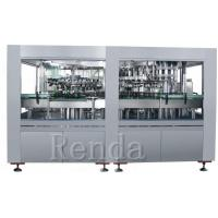Wholesale 1L Glass Bottle Wine Filling Machine Cork Capping Straight Liner Machine from china suppliers