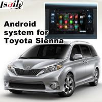 Buy cheap TOYOTA Sienna navigation video interface with rear view WiFi video mirror link cast screen from Wholesalers