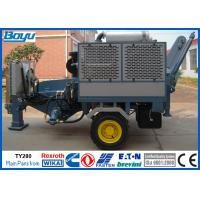 Wholesale 280kN 28 ton Hydraulic Cable Puller Overhead Transmission Line Stringing Equipment from china suppliers