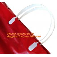 Wholesale SOFT LOOP HANDLE SHOPPING BAG, LDPE CLEAR SIDE SEALING BAG, POLY BAGS, PLASTIC BAGS, CARRY from china suppliers