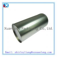 Wholesale tea tin box with hinged lid from china suppliers