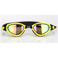 Interchangeable Nose Piece Adult Swim Goggles With Soft / Durable Silicone Gasket