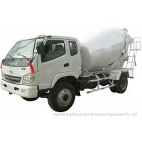 China T. King Chassis Concrete Mixer Truck 2 CBM , Ready Mix Cement Trucks for sale