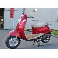 China Leather Seat Mini Bike Scooter Max Power 4.1 HP Mini 50cc Scooter For Kid on sale