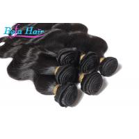 Wholesale 7A Grade Natural black Peruvian Human Hair Extensions Wefts For Ladies from china suppliers
