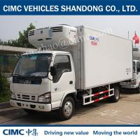Wholesale QL5100XLC9PARJ  4*2 Insulated panels for cold storage ISUZU CHASSIS Insulated Trailer Unit from china suppliers