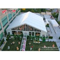 Quality Exterior Luxurious Party Wedding Tent , Large Wedding Tent No Pole Inside for sale