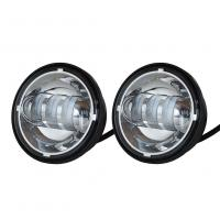 Wholesale Auto Drl Daytime Car LED Fog Lights Without Angel Eyes 1800 Lumen 6500K-7000K from china suppliers